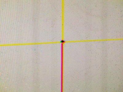Un Dlp lesionato da un laser. Il danno non è riparabile e richiede la sostituzione del componente (3)